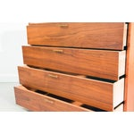 Image of Mid Century Modern Walnut Chest of Drawers by Ramseur