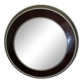 Henredon Round Mirror - Cerise