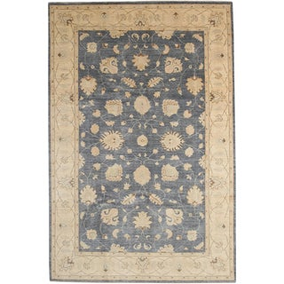 """Oushak Hand Knotted Area Rug - 6'0"""" X 9'0"""""""