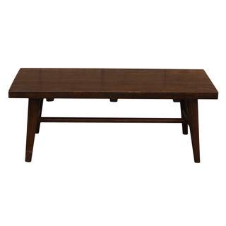 Nakashima Style Solid Wood Bench
