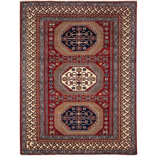 """Traditional Hand Knotted Area Rug - 5'3"""" X 6'10"""""""