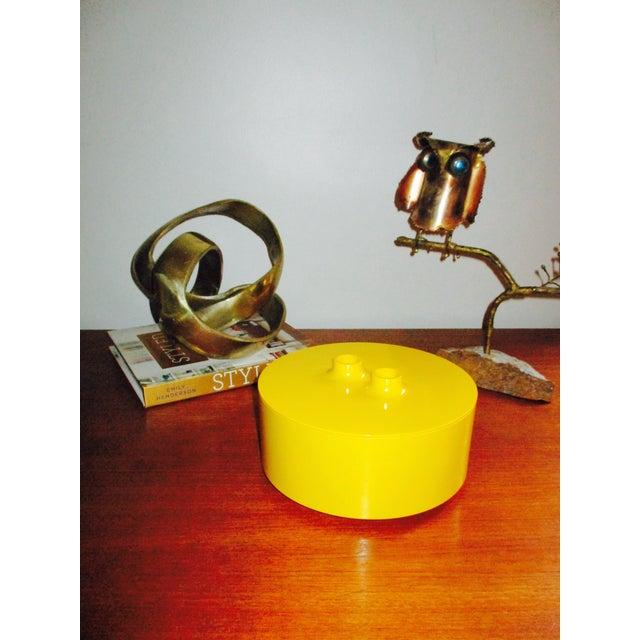 Massimo Vignelli Yellow Melamine Salad Bowl - Image 10 of 11