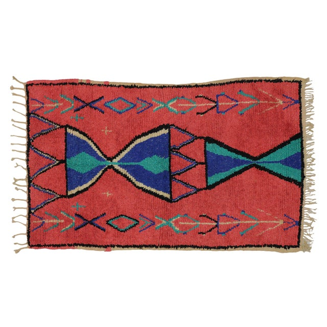 Vintage Berber Moroccan Rug - 3′9″ × 6′ - Image 6 of 6