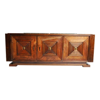 Art Deco Wooden Console by Maxime