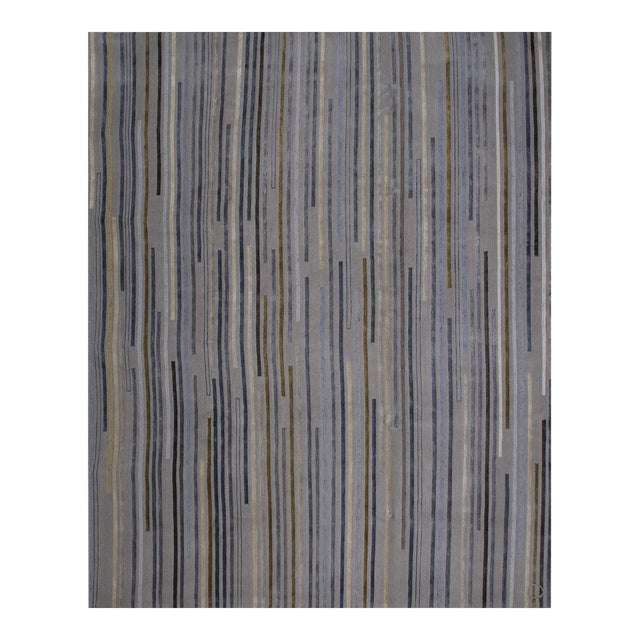 """Tiny Stripes"" Rug by Emma Gardner - Image 1 of 5"