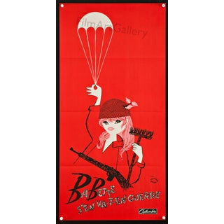 Brigitte Bardot 'B.B Goes to War' French Poster