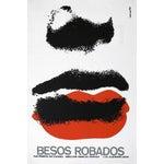 "Image of ""Stolen Kisses"" Cuban Serigraph Poster"