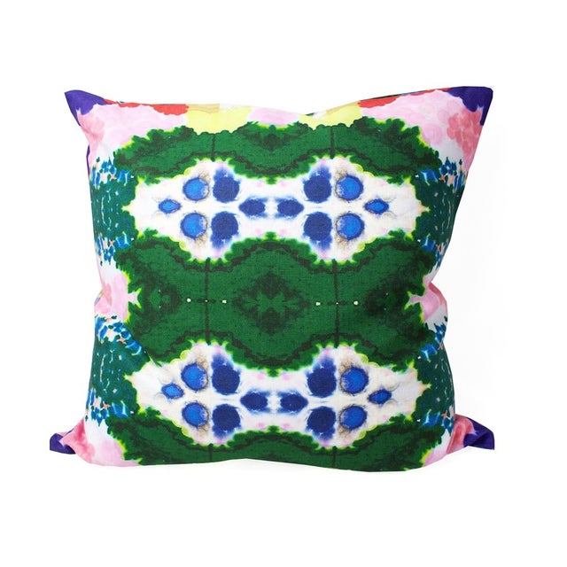 Colorful World Reversible Pillow - Image 1 of 5