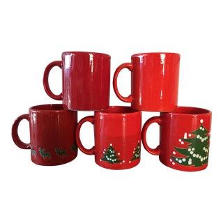 Waetchersbach Christmas Mugs - Set of 5