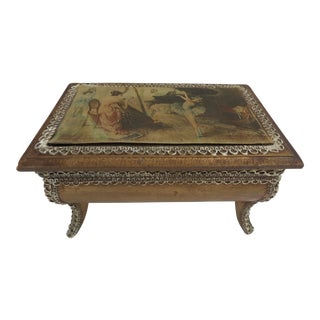 Italian Musical Jewelry Box