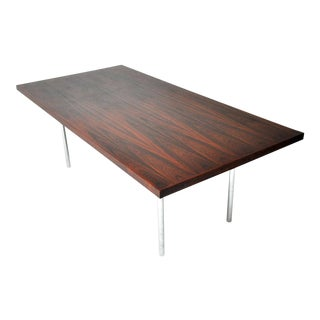 Rosewood Dining Table after Mies Van Der Rohe