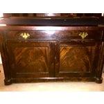 Image of American Empire Antique Mahogany Secretary Desk