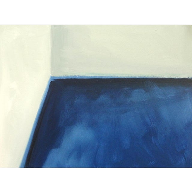 """""""Abstract Open Door"""" Original Fine Art Painting - Image 3 of 5"""