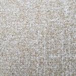 Image of Mid-Century Woven Wool Loveseat & Ottoman