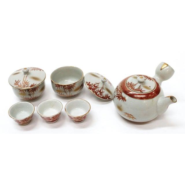 Vintage Asian Tea Serveware - Set of 6 - Image 4 of 7