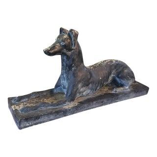 Vintage Greyhound Sculpture