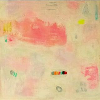 "Abstract Painting - Original Art ""Pink Sunrise"""