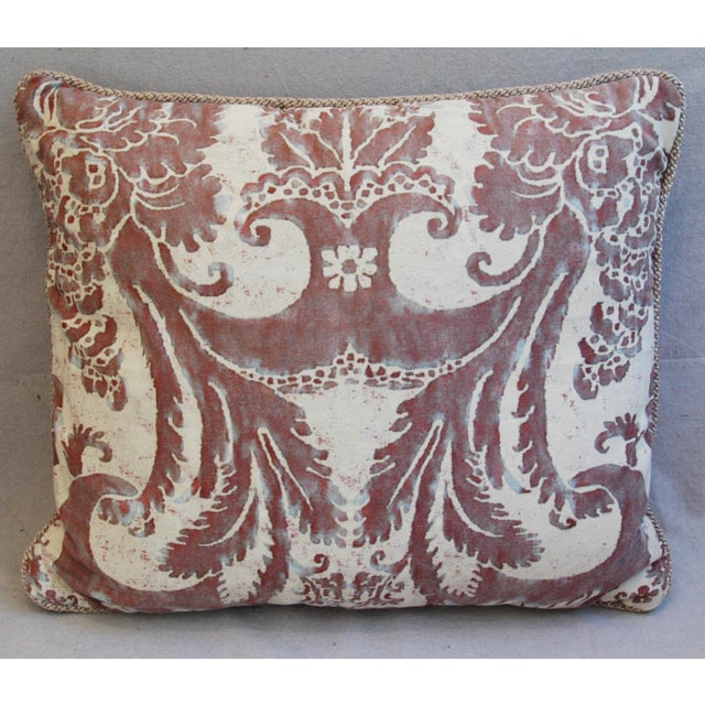 Mariano Fortuny Glicine & Mohair Pillows - A Pair - Image 4 of 10