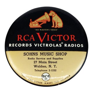 Vintage RCA Victor Victrola Phonograph Record Duster