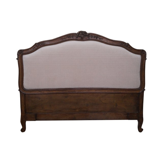 Auffray Custom Quality French Louis XV Headboard - Image 1 of 10