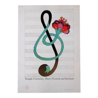 Vintage Poster Lithograph - Milton Glaser