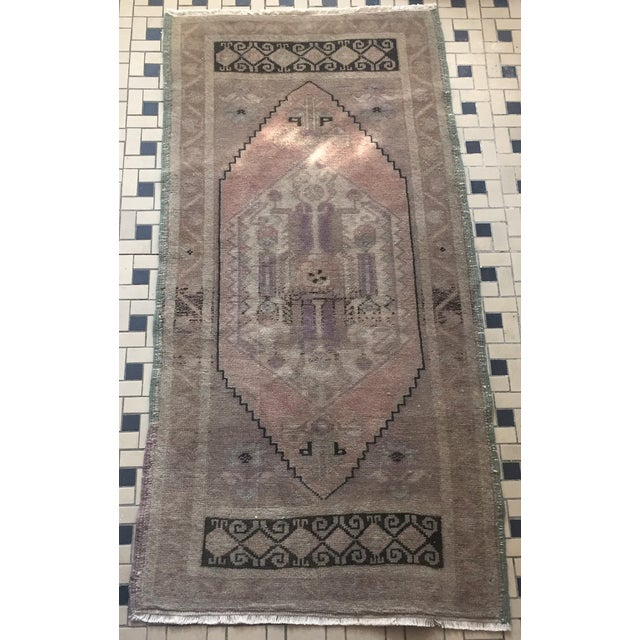 "Turkish Oushak Silk and Wool Rug - 1'8"" X 3'5"" - Image 2 of 8"