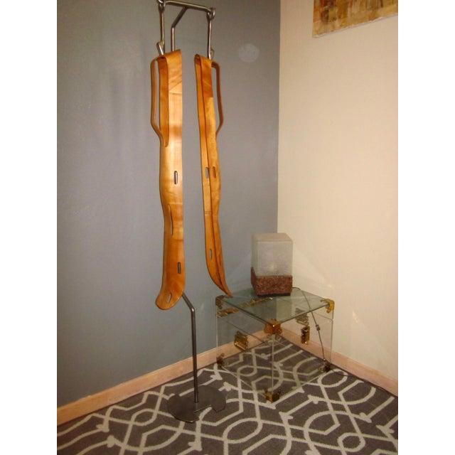 2 Eames Leg Splint Custom Stand Evans Sculpture - Image 3 of 9