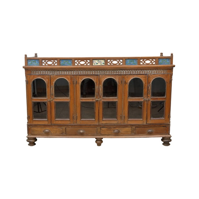 Image of British Colonial Sideboard