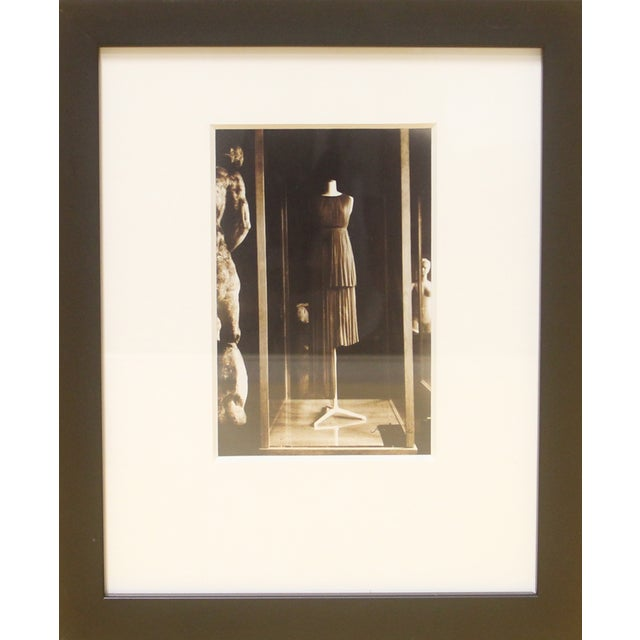 Framed Photograph, Madame Gres Exhibition in Paris - Image 1 of 2