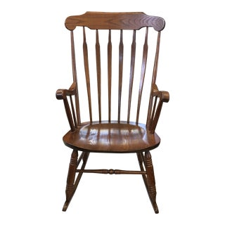 Vintage S. Bent & Bros. Rocking Chair