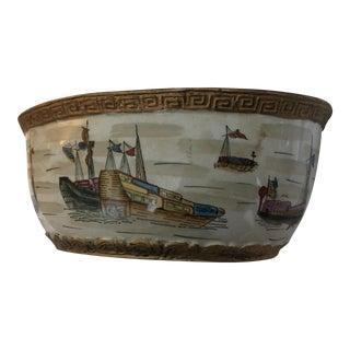 Nautical English Ceramic Dish