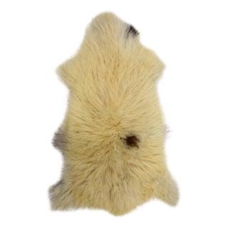 "Handmade Wool Sheepskin Rug Pelt - 2'6"" x 4'0"""