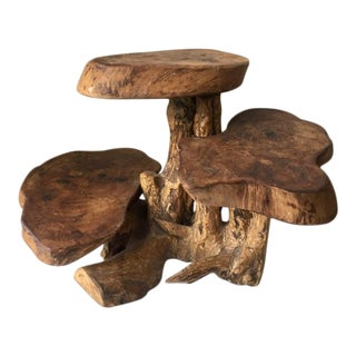 Mid-Century Teak Root Sculpture