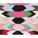 "Image of Vintage Moroccan Kilim Boucherouite Rug - 3'7"" x 6'5"""