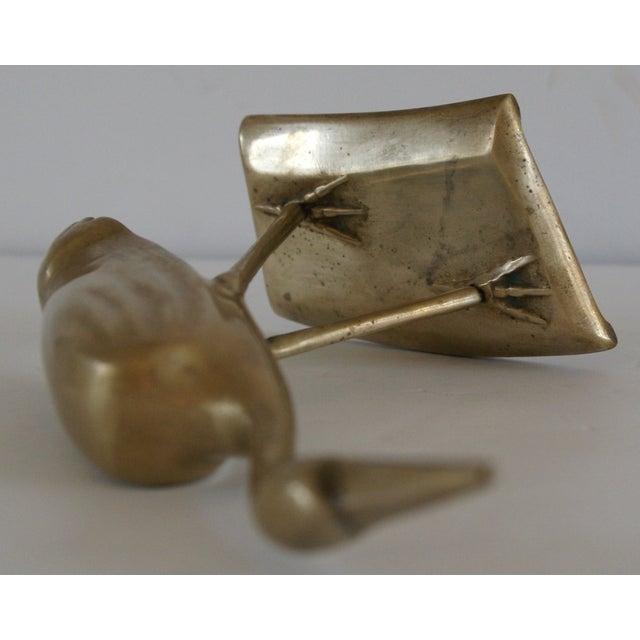 Brass Shore Bird Sculpture - Image 6 of 8