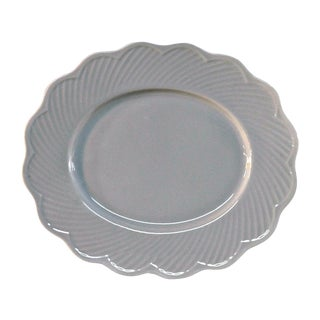Dansk White Portugal Oval Candy Plate