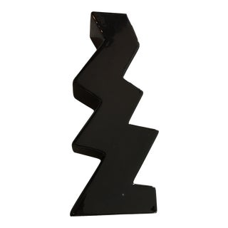 Memphis Zigzag Ceramic Vase