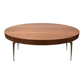 Oval Stiletto Coffee Table