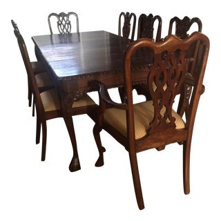 Chippendale Dining Set - Set of 9