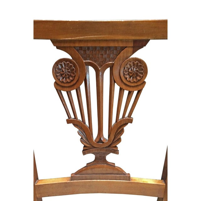 Vintage Diminutive Hepplewhite-Style Chairs - Pair - Image 6 of 6