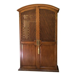 Vintage Armoire Entertainment Cabinet