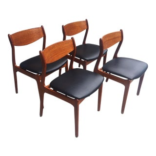Farso Stolefabrik Danish Teak Dining Chairs - Set of 4