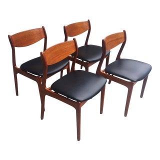 Farso Stolefabrik Danish Teak Dining Chairs - Set of 4