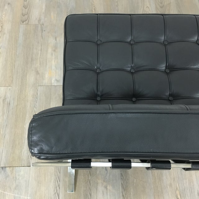 Barcelona Chairs & Ottoman - Set of 3 - Image 9 of 11