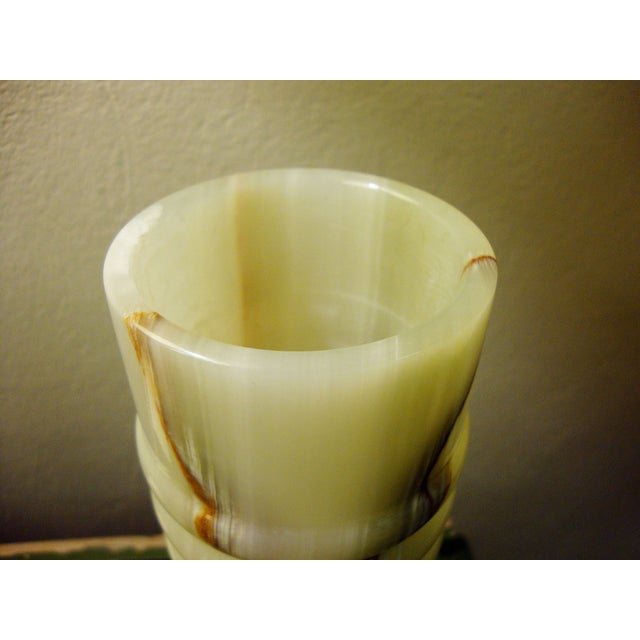 Vintage Mexican Onyx Vase - Image 5 of 5