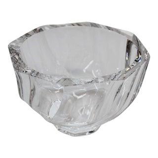 Medium Orrefors Octagon Bowl