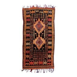 Vintage Moroccan Taznakht Rug - 4′3″ × 8′