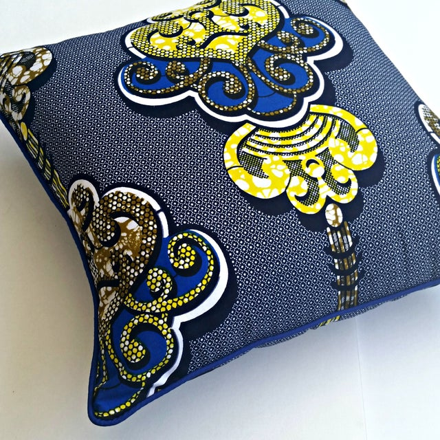 Image of Sample Sale- Royalty African Print Pillows- a Pair