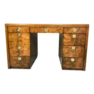 Sligh Furniture Patchwork Burl Desk