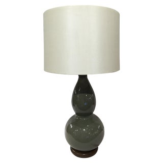 Wildwood Green Crackle Glazed Lamp
